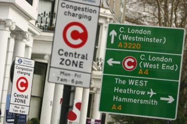 Congestion charge in Londra. Ce este si cand trebuie sa platesti.