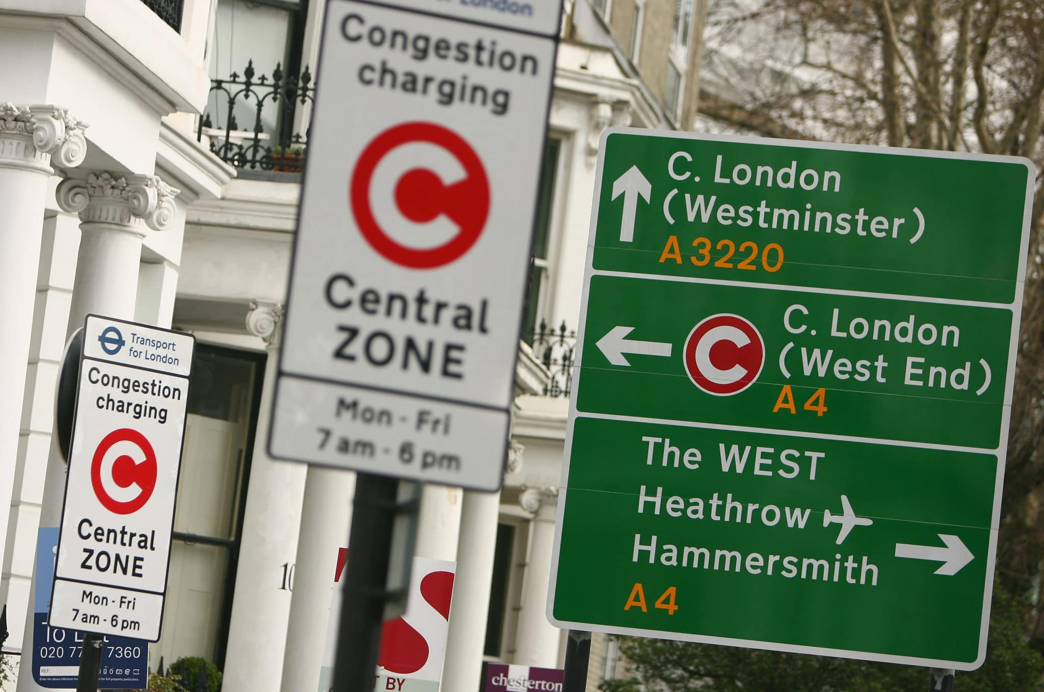 Congestion charge in Londra