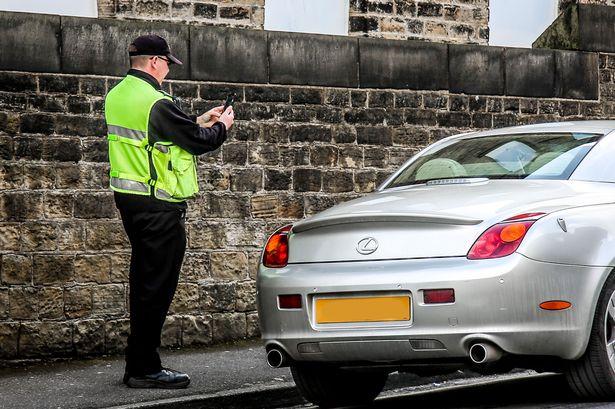Evita amenda pentru parcare in UK