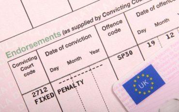 Puncte pe permis in UK – pentru ce poti primi si cat sunt valabile