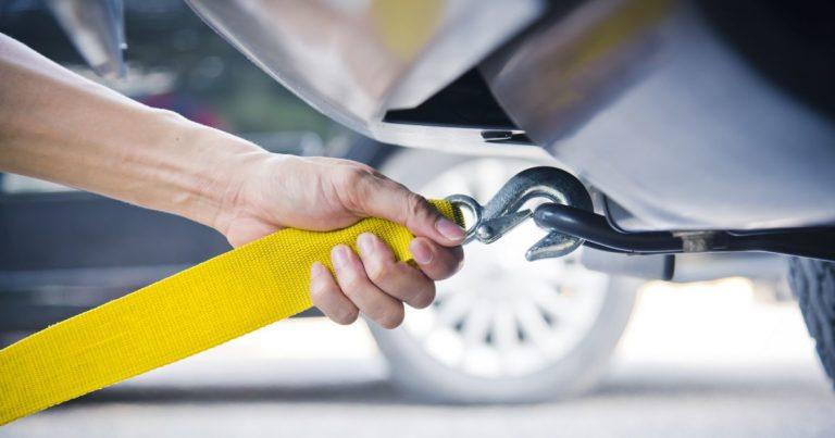 Remorcarea unei masini in UK