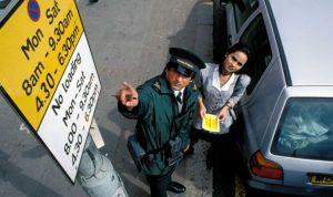 Ofiterii de parcare din UK