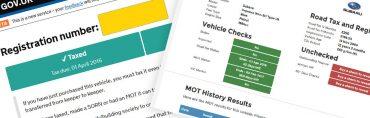 Cum verifici asigurarea, roadtax-ul si MOT-ul unei masini in UK