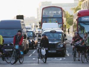 Reguli pentru biciclisti in uk