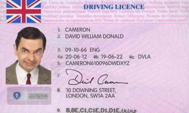 Permis de conducere fals – cumparat de pe net pentru £600