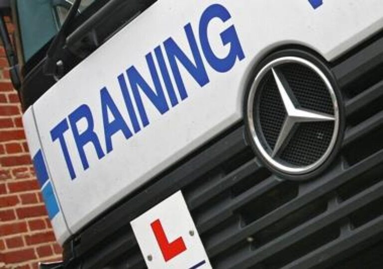 Testul pentru soferii de camion in UK